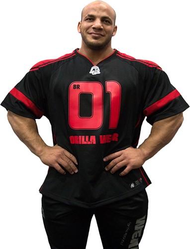 Gorilla Wear GW Athlete T-Shirt Big Ramy Black/Red