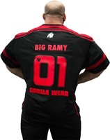 Gorilla Wear GW Athlete T-Shirt Big Ramy Black/Red-2