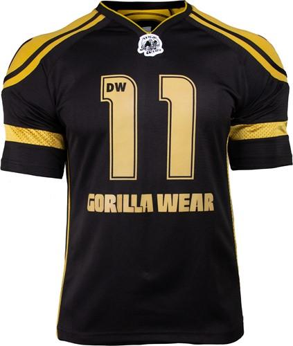 Gorilla Wear GW Athlete T-Shirt Dennis Wolf Zwart/Goud