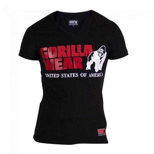 Gorilla Wear Utah V-Neck T-Shirt - Black