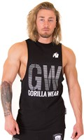 Gorilla Wear Dakota Sleeveless T-Shirt - Black-2