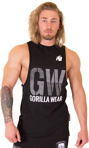 Gorilla Wear Dakota Sleeveless T-Shirt - Black