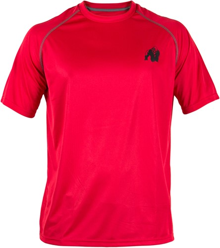 Gorilla Wear Performance T-shirt Red/Black