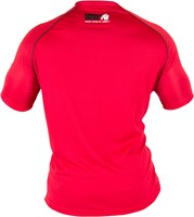 Gorilla Wear Performance T-shirt Red/Black-2