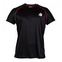 Gorilla Wear Performance T-shirt Black/red