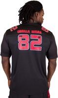 Gorilla Wear Fresno T-Shirt - Black/Red-3