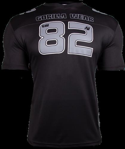 Gorilla Wear Fresno T-shirt - Black/Gray