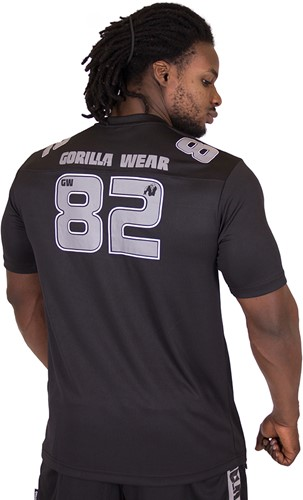Gorilla Wear Fresno T-shirt - Black/Gray-3