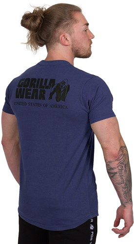Gorilla Wear Bodega T-shirt - Navy-3
