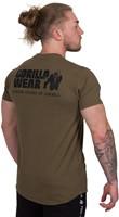Gorilla Wear Bodega T-shirt - Army Green-3