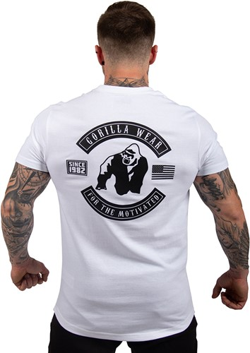 Gorilla Wear Detroit T-shirt - White-2