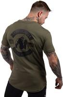 Gorilla Wear Detroit T-Shirt - Army Green-3
