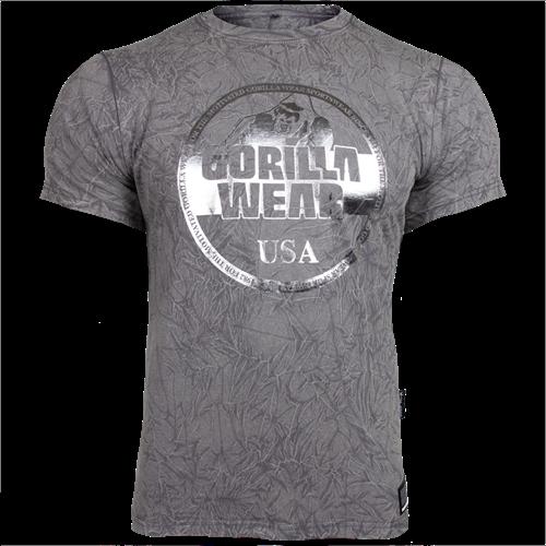 Gorilla Wear Rocklin T-Shirt - Grijs