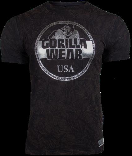 Gorilla Wear Rocklin T-shirt - Zwart