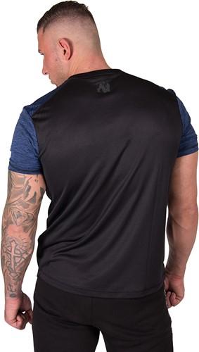 Gorilla Wear Austin T-shirt - Navy/Black-3
