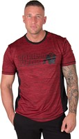 Gorilla Wear Austin T-shirt - Red/Black