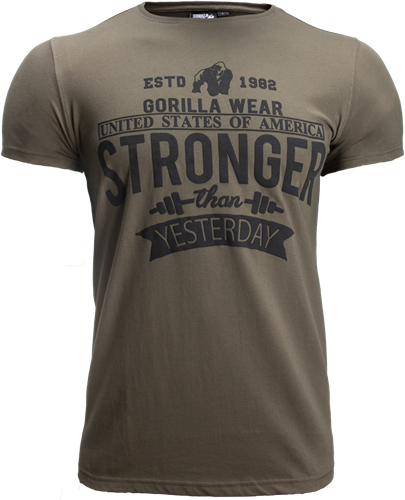 Gorilla Wear Hobbs T-Shirt - Legergroen