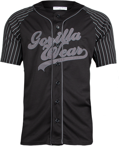 Gorilla Wear 82 Jersey - Zwart