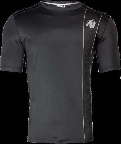 Gorilla Wear Branson T-Shirt - Zwart/Grijs