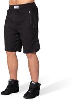 Gorilla Wear Augustine Old School Shorts - Zwart