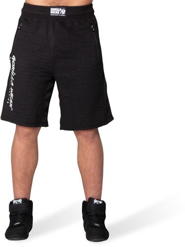 Gorilla Wear Augustine Old School Shorts - Black-2