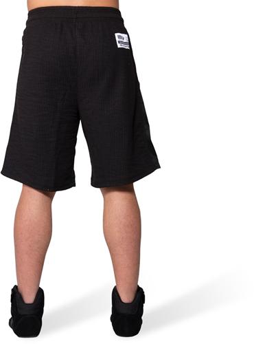 Gorilla Wear Augustine Old School Shorts - Zwart-3