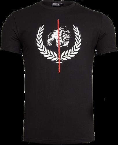 Gorilla Wear Rock Hill T-Shirt - Zwart