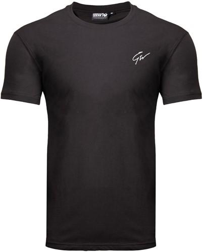 Gorilla Wear Johnson T-Shirt - Zwart