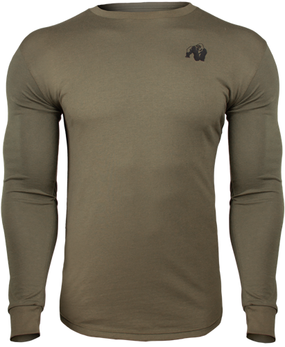 Gorilla Wear Williams Longsleeve - Legergroen - M