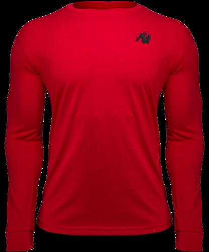 Gorilla Wear Williams Longsleeve - Rood - L