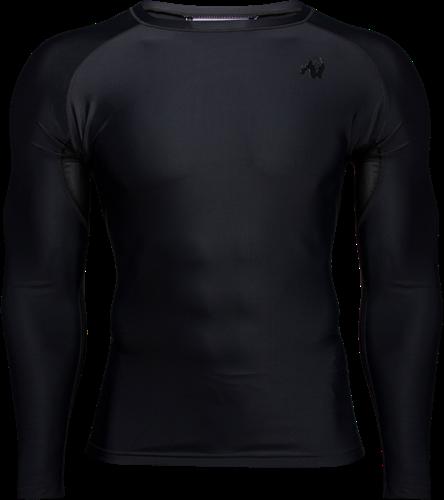 Gorilla Wear Hayden Compression Longsleeve - Zwart
