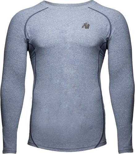 Gorilla Wear Rentz Longsleeve - Lichtblauw