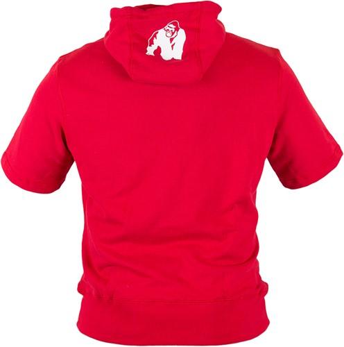 Gorilla Wear Boston Short Sleeve Hoodie - Red-2