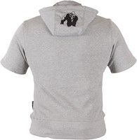 Gorilla Wear Boston Short Sleeve Hoodie - Grey-2