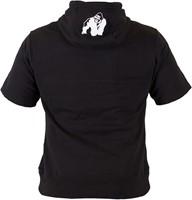 Gorilla Wear Boston Short Sleeve Hoodie - Black