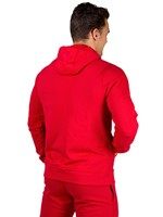 Gorilla Wear Classic Zipped Hoodie Red-3