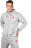 Gorilla Wear Classic Zipped Hoodie Grey-2