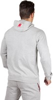 Gorilla Wear Classic Zipped Hoodie Grey-3