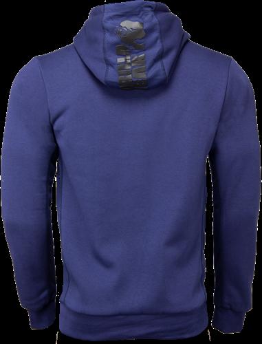 Gorilla Wear Bowie Mesh Zipped Hoodie - Marineblauw-2
