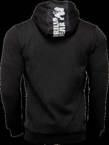 Gorilla Wear Bowie Mesh Zipped Hoodie - Black-2