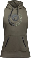 Gorilla Wear Manti Sleeveless Hoodie - Army Green
