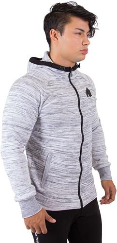 Gorilla Wear Keno Zipped Hoodie - White/Black-3