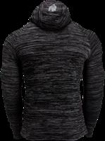 Gorilla Wear Keno Zipped Hoodie - Black/Gray-2