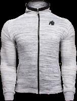 Gorilla Wear Keno Zipped Hoodie - White/Black