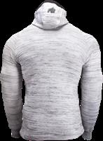 Gorilla Wear Keno Zipped Hoodie - White/Black-2