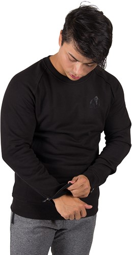 Gorilla Wear Durango Crewneck Sweatshirt - Black-3