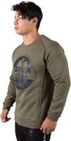 Gorilla Wear Bloomington Crewneck Sweatshirt - Army Green-2