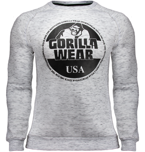 Gorilla Wear Bloomington Crewneck Sweatshirt - Mixed Grijs
