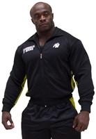 Gorilla Wear Track Jacket Black/Yellow   Fitnessapparaat.nl