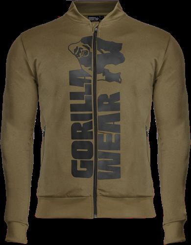 Gorilla Wear Ballinger Trainingsjas - Legergroen/Zwart